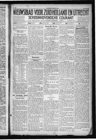 Schoonhovensche Courant 1930-08-06