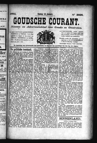 Goudsche Courant 1884-01-13