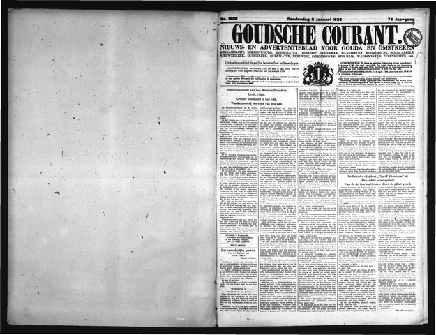 Goudsche Courant 1936