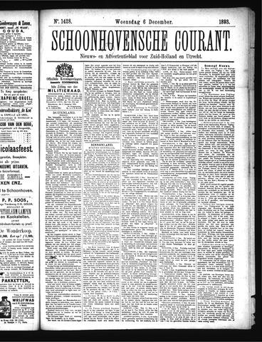 Schoonhovensche Courant 1893-12-06