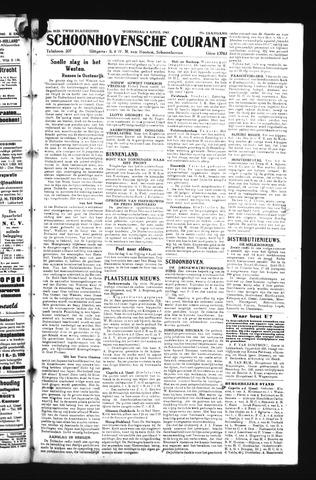Schoonhovensche Courant 1945-04-04