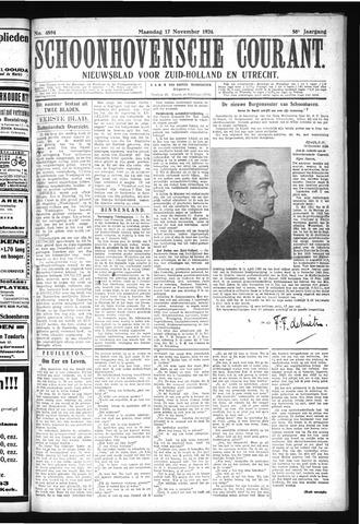 Schoonhovensche Courant 1924-11-17