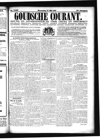 Goudsche Courant 1931-05-27