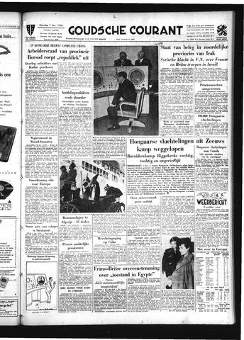 Goudsche Courant 1956-12-01