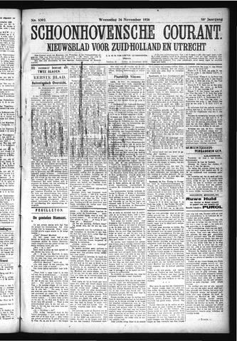 Schoonhovensche Courant 1926-11-24