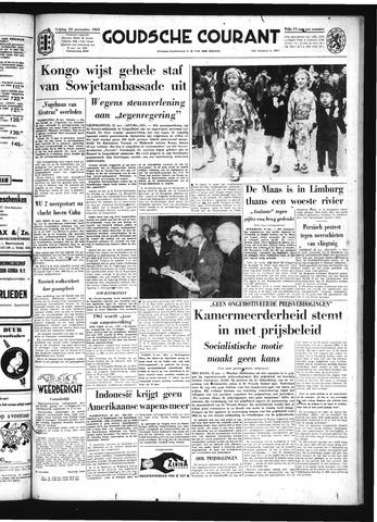 Goudsche Courant 1963-11-22