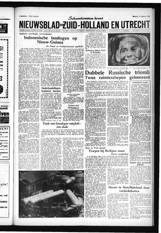 Schoonhovensche Courant 1962-08-13