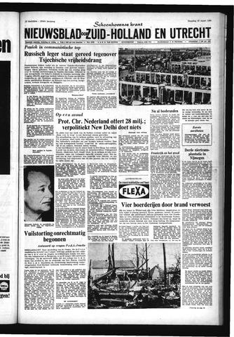 Schoonhovensche Courant 1968-03-25