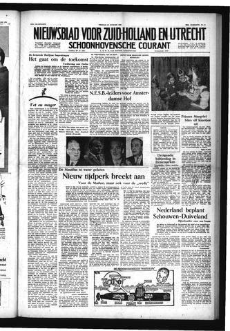 Schoonhovensche Courant 1954-01-22