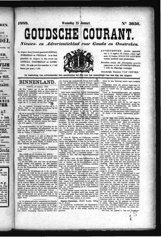 Goudsche Courant 1888-01-25