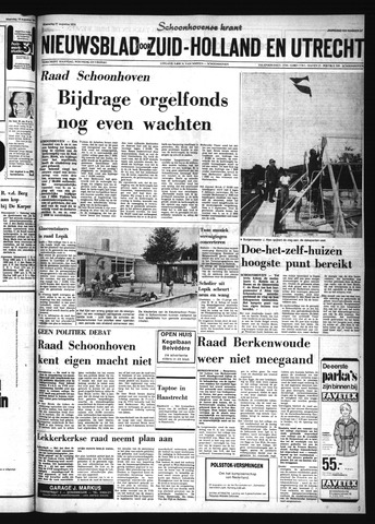 Schoonhovensche Courant 1974-08-21