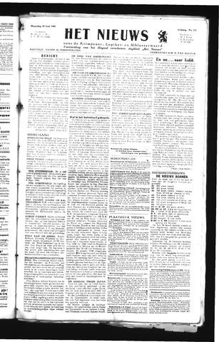 Schoonhovensche Courant 1945-06-18