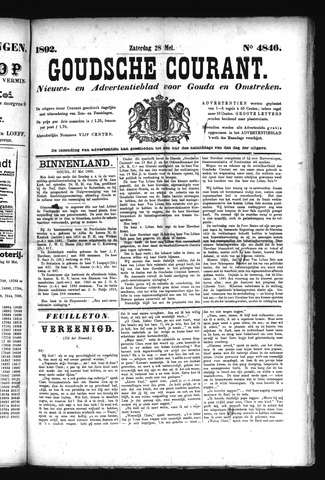 Goudsche Courant 1892-05-28
