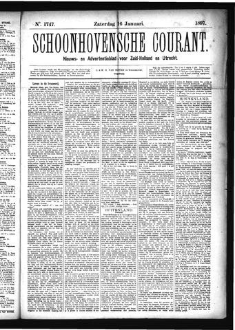 Schoonhovensche Courant 1897-01-16