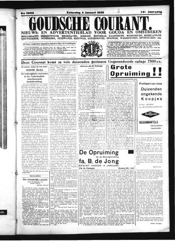 Goudsche Courant 1936-01-04