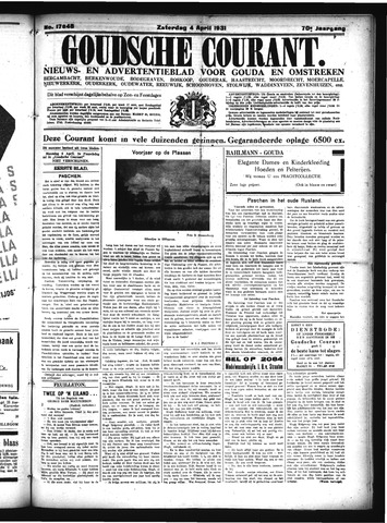 Goudsche Courant 1931-04-04