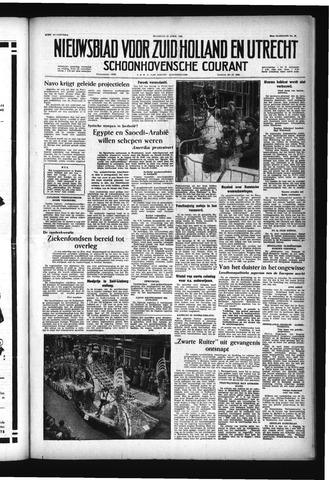 Schoonhovensche Courant 1957-04-15
