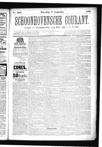 Schoonhovensche Courant 1909-08-28