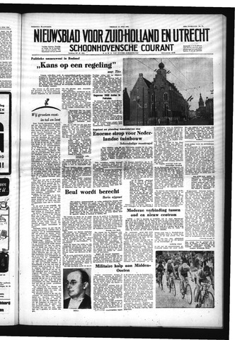 Schoonhovensche Courant 1953-07-10