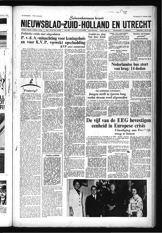Schoonhovensche Courant 1965-10-27