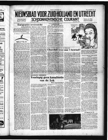 Schoonhovensche Courant 1951-09-21