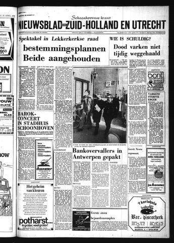 Schoonhovensche Courant 1975-04-25