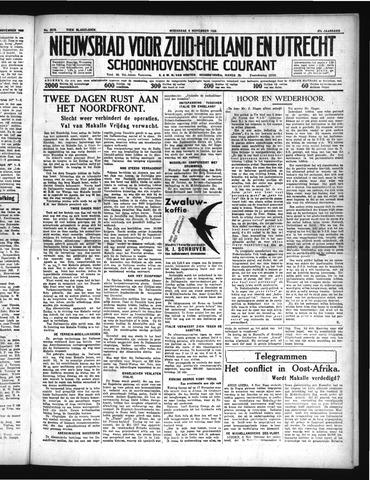 Schoonhovensche Courant 1935-11-06