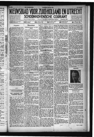 Schoonhovensche Courant 1932-08-29