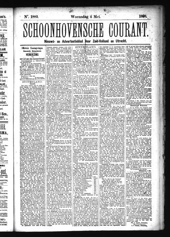 Schoonhovensche Courant 1898-05-04