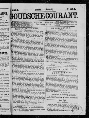 Goudsche Courant 1867-01-27