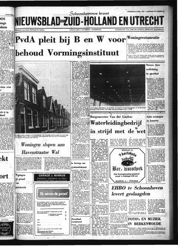Schoonhovensche Courant 1976-04-28
