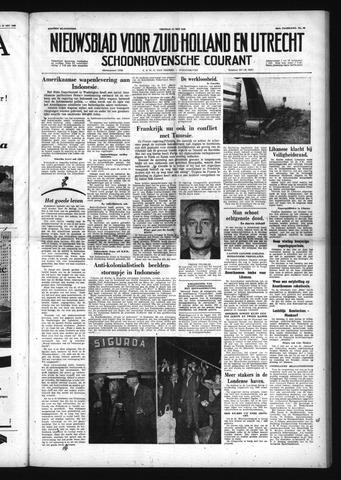 Schoonhovensche Courant 1958-05-23