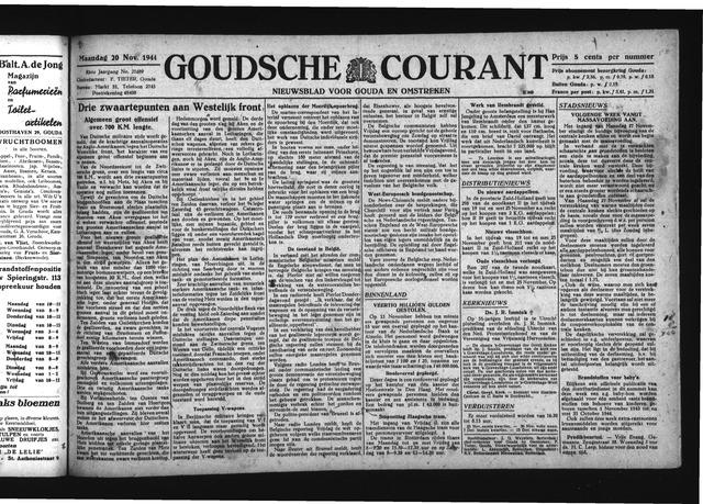 Goudsche Courant 1944-11-20
