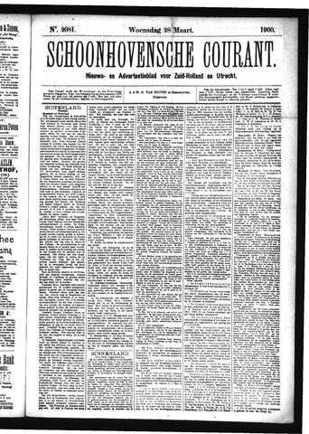 Schoonhovensche Courant 1900-03-28