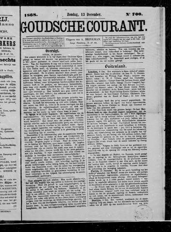Goudsche Courant 1868-12-13