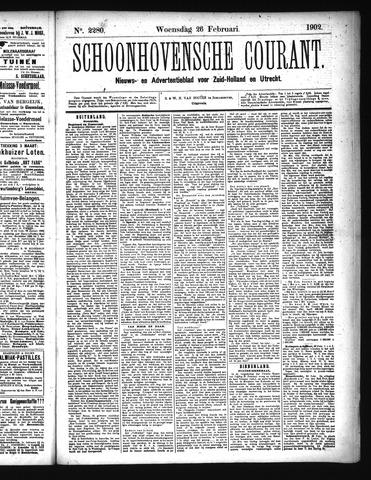Schoonhovensche Courant 1902-02-26