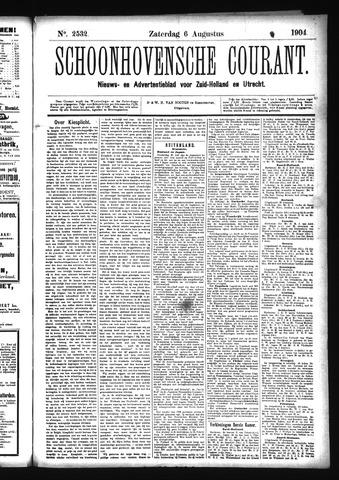 Schoonhovensche Courant 1904-08-06
