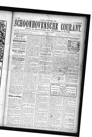 Schoonhovensche Courant 1923-12-28