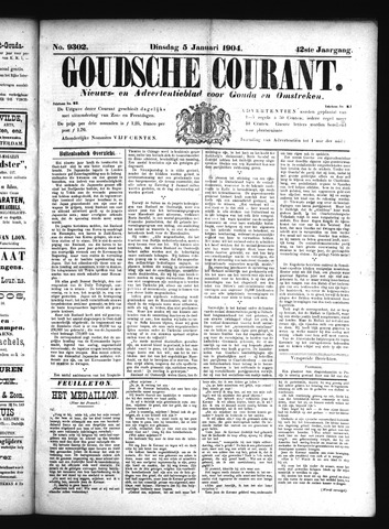 Goudsche Courant 1904-01-05