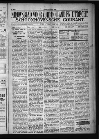 Schoonhovensche Courant 1929-01-04