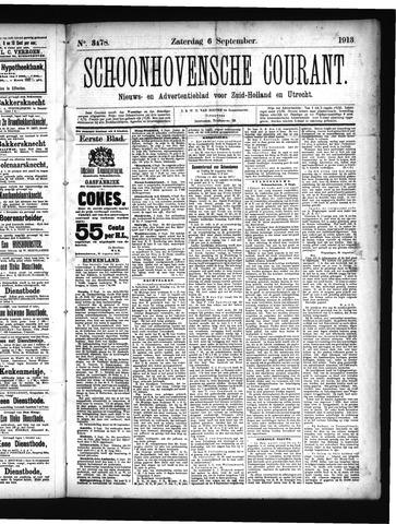 Schoonhovensche Courant 1913-09-06