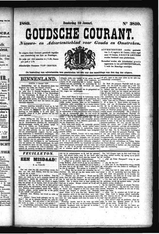 Goudsche Courant 1889-01-10