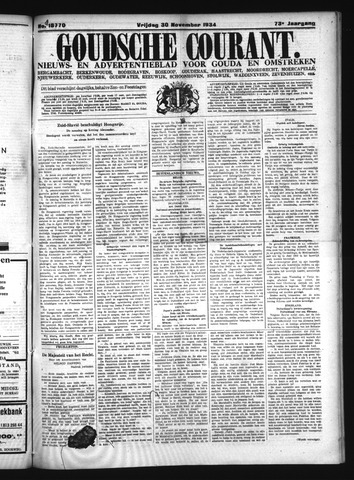 Goudsche Courant 1934-11-30