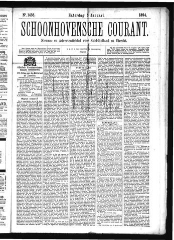 Schoonhovensche Courant 1894-01-06