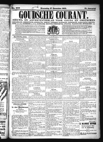 Goudsche Courant 1922-12-27