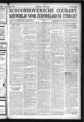 Schoonhovensche Courant 1927-06-27