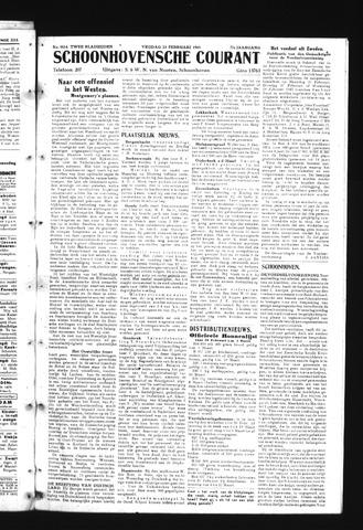 Schoonhovensche Courant 1945-02-23