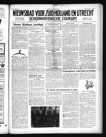 Schoonhovensche Courant 1952-09-03