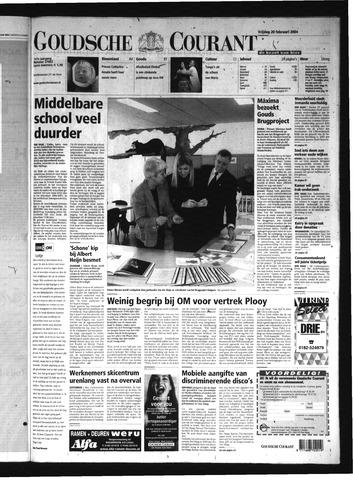 Goudsche Courant 2004-02-20