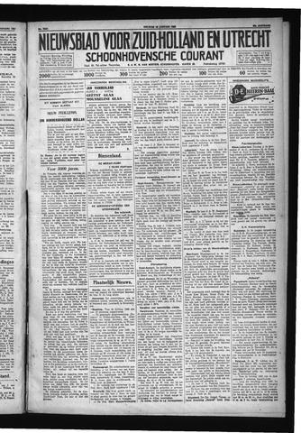 Schoonhovensche Courant 1931-01-16